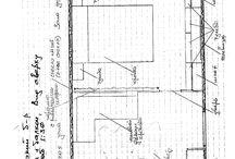Перепланировка однокомнатной квартиры. Сария П44. / Эскизы перепланировки однокомнатной квартиры для двух взрослых и ребенка. Серия П44. Вариант внутренней планировки. Комната и балкон. Коридор, ванная, кухня. Проект 2006 года.