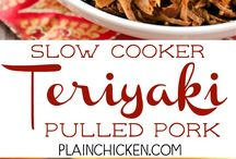 Pulled pork Teriyaki