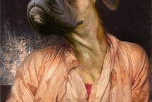 anthropomorphic portrait