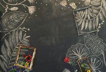 blackboard 黒板アート