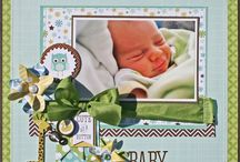 scrapbook baby / Baby inspired layouts and projects