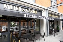 {Miller & Carter} / At this premium steakhouse restaurant, you'll find excellent service, a varied drinks menu and the finest, succulent steaks as well as great fish, lamb, chicken and pork options – all grilled to perfection.