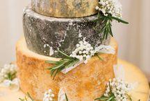 Syrová svadobná torta
