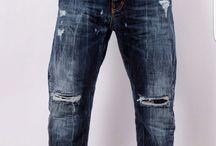 I'M BRIAN / collezione primavera estate 2016 in shooting jeans invecchiati,modello antiform,jeans denim colored,pantaloni con catena,camicia coreana,giubbini vegani,maglioncini strappati...tutto rigorosamente made in italy