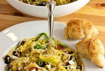 Zoodles / Zucchini Noodles