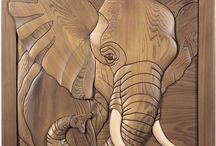lukisan kayu