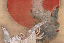 Ito Jakuchu / Itō Jakuchū ( 伊藤若冲? , Marzo 2, 1716 a octubre 27, 1800 ) [1] fue un pintor japonés de mediados del periodo Edo , cuando Japón había cerrado sus puertas al mundo exterior. Muchas de sus pinturas se refieren temas tradicionalmente japoneses, en particular los pollos y otras aves. Muchas de sus obras lo contrario tradicionales muestran un alto grado de experimentación con perspectiva, y con otros elementos estilísticos muy modernos.