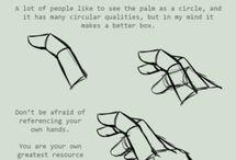 Listen lessons - hands