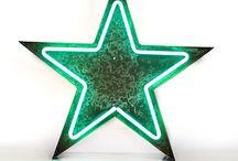 stars etc.....neon