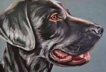 Honden schilderen