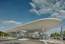 bus - gas station
