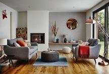 sofas/living space