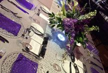 Swank Corporate Gala at the Borgata Hotel & Casino, Atlantic City, New Jersey / 97 Tables dressed in linens from Gala Cloths delighted 1100 guests at a swank corporate gala at the Borgata Hotel & Casino, Atlantic City, New Jersey. Photography credit: Nina Soifer