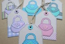 Handbaggery Taggery / Not just any old Gift Tag, but a Handbag Gift Tag!