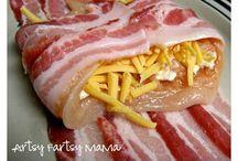 recette à base de bacon
