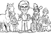 Bob Lynch Cartoons about Lorain County Fair / Cartoons about the Lorain County Fair created by well known local artist and editorial cartoonist Bob Lynch from the Chronicle Telegram.