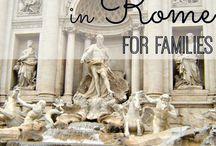 Rome met kids