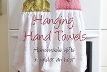 Pretty Towel ideas for bathroom or kitchen