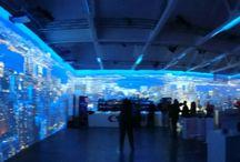 Evoluzione delle Installazioni Immersive / Esperienze immersive tramite la virtualità. Esperienze tra reale e virtuale possono modificare la forma mentis umane, attraverso le nostre modalità di percezione e apprendimento.