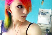 ChEvEux Arc-En-CiEl - Rainbow Hair / Coloration-Haircolor