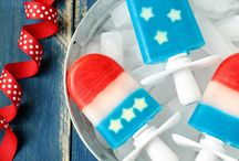 Forever ... Red, White & Blue / Recipes and entertaining ideas for the 4th of July