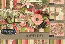 {Lovely Day} Kit, Extras and Layouts