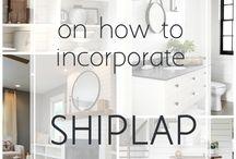 Shiplap/Siding