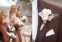 Cream & Chocolate Wedding Ideas