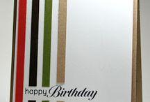 Male Birthday cards