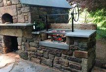 oven backyards outdoor