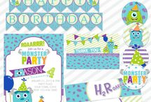 Party Printables and Invites / by Sara Seals