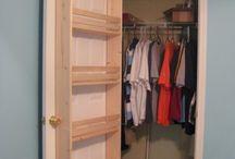 nápady na uspořádání skříně