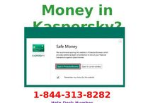 How to Use Safe Money in Kaspersky? 1-8443138282 for Help to Call