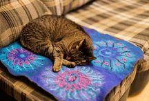 коврик для кошки