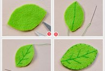 Flower brooch diy