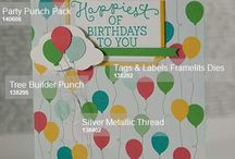 How To - Tips and Techniques / This is where you will find images labelled with all of the key Stampin' Up! products required to re-create my cards. You can buy each of these items and more from my online Stampin' Up! store: http://bit.ly/1FoHRxd