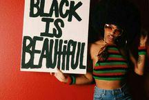 Being black ♡