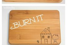 Boards Burn Cutting board