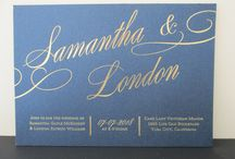 Catalog Invitations / Hundreds of different invitations to choose from through our catalogs as well. We work closely with Carlson Craft, Birchcraft Studios and Kleinfeld Paper.
