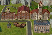 Sims 2 - Neighborhood - Deco