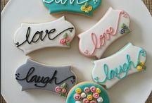 Biscoitos romântico