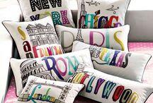 Room decor pillows