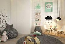 Decoración Infantil / Ideas y propuestas para decorar el cuarto de tu bebé o de tus hijos mayores.