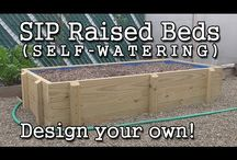SELF IRR RAISED BED