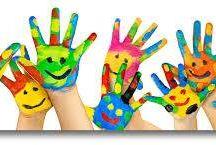 Le Maddine : La creatività vista con gli occhi dei bambini / lavori realizzati dai piu piccini
