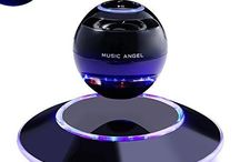 Smartphone Portable Wireless Floating Bluetooth Maglev Levitating Led Speaker
