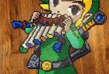 Hama Beads Zelda / Pyssel