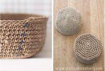 crochet basket/handbag