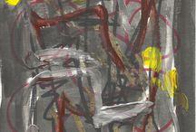 Darkness 2009 / Gouache