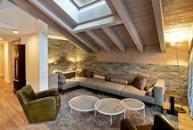 HOME: Holiday apartment, Zermatt / Interior + lighting design: ushitamborriello Innenarchitektur_Szenenbild, Rieden, CH
